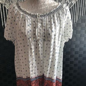 Faded Glory Peasant Top